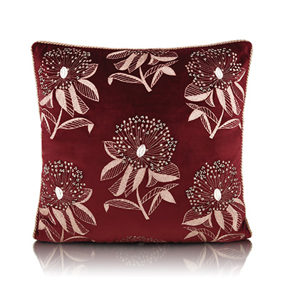 scattered powder puff cushion cover