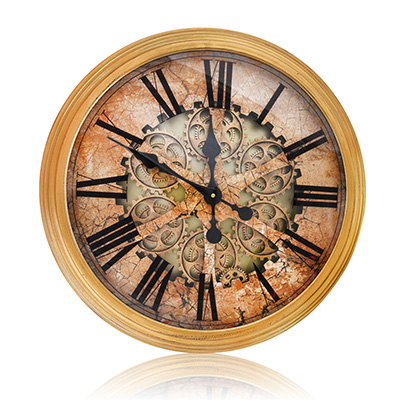 Bronx Wall Clock Copper