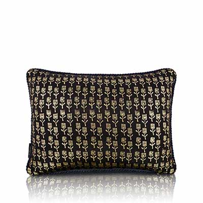 Papyrus Turq Cushion Cover