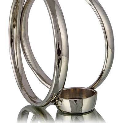 Sirius Candle Holder Silver