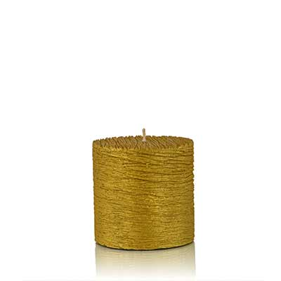 tappa candle gold sml