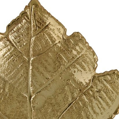Maple Leaf Wall Décor Gold Small