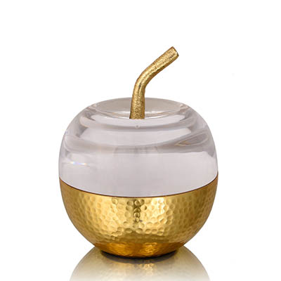 pomme acrylic top decor