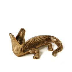 crocdyce candle holder