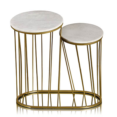 Deco Column Side Table