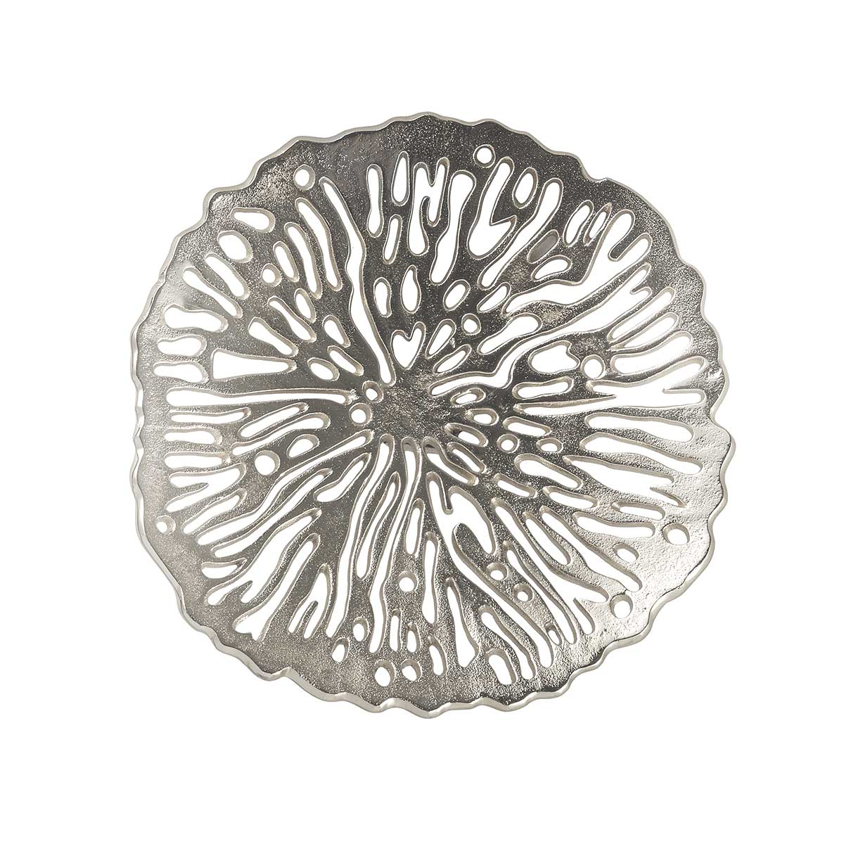 coral wall decor large