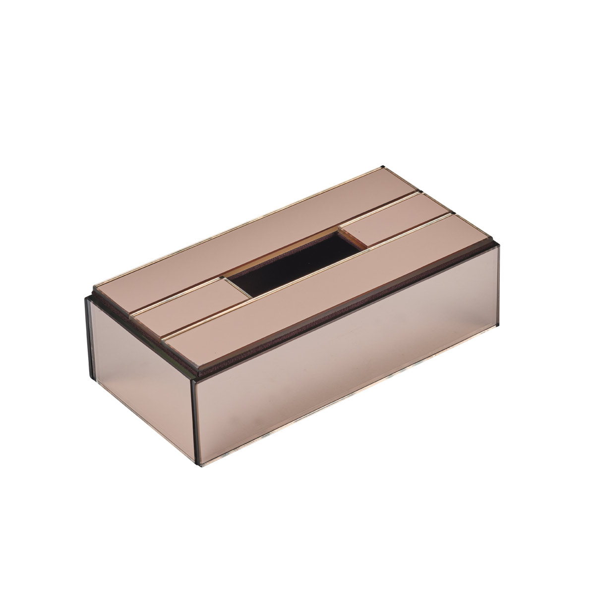 TISSUE HOLDER ROSE GOLD