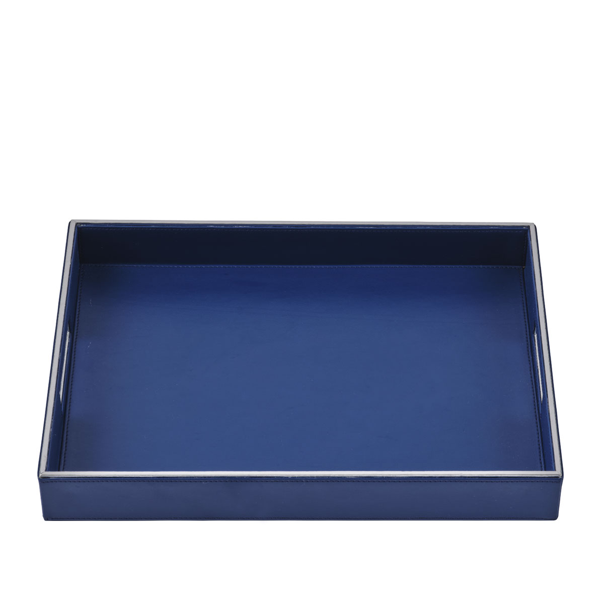 blue luxor serving tray large