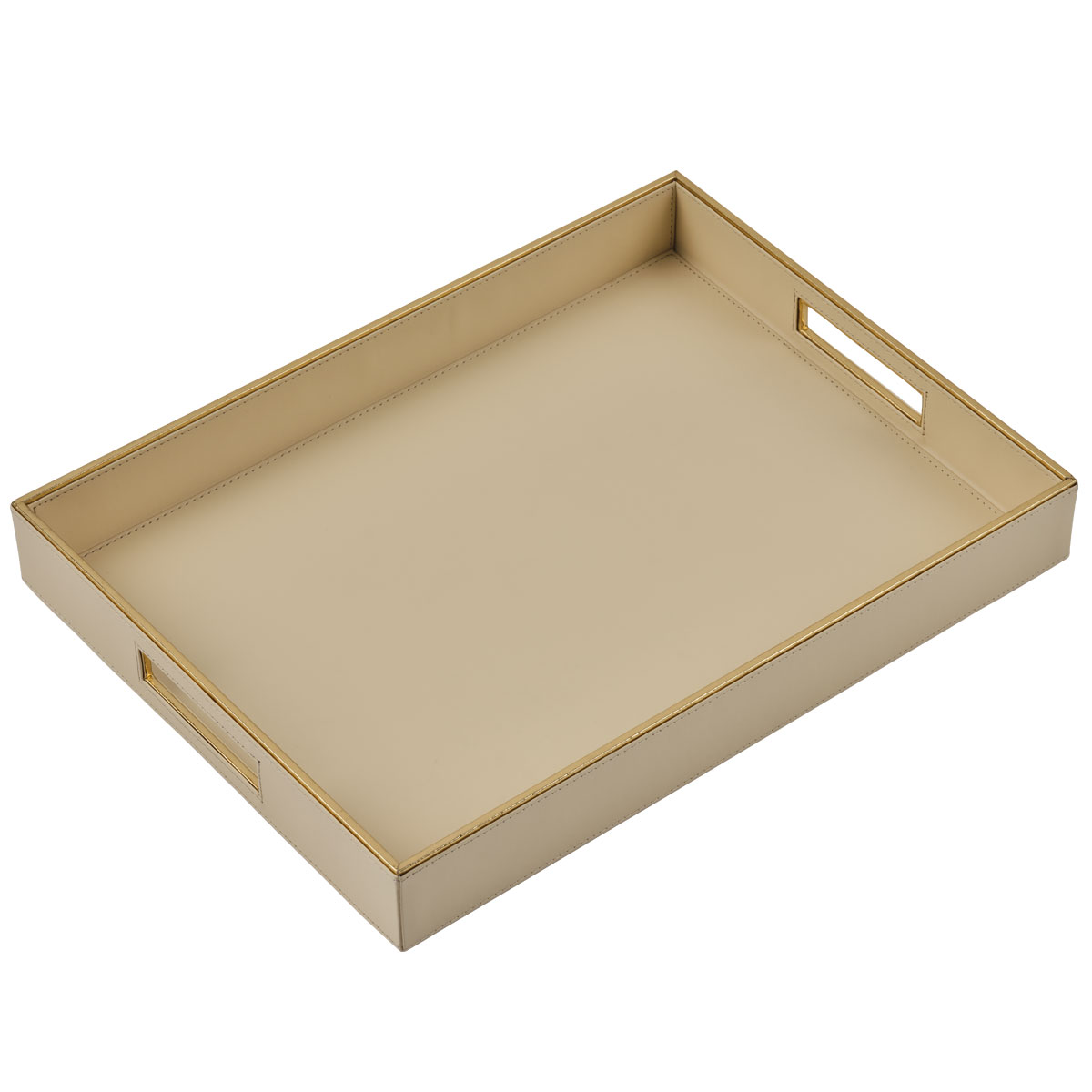 white luxor serving tray large